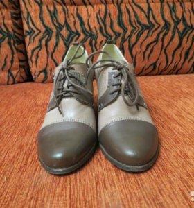 Женские туфли на осень кожа