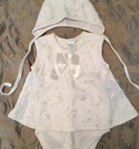 Платье для новорождённой