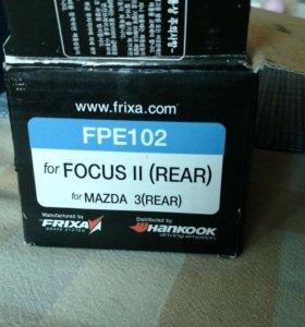 Тормозные колодки Ford Focus Hankook Frixa FPE102