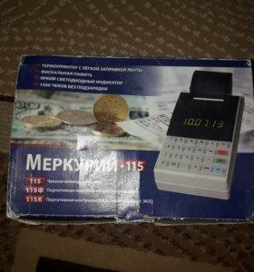Чекопечатающая машинка МЕРКУРИЙ 115