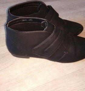 Ботинки, сапоги натуральная кожа