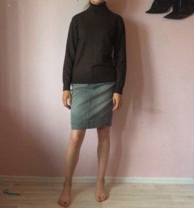 Кофта юбки джинсовые