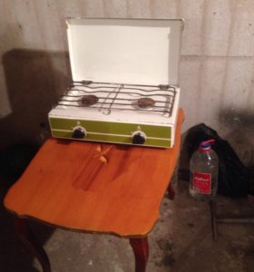 Печка газовая 2 камфорная( настольная)