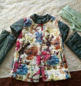 Демисезонная куртка-жилетка для беременных