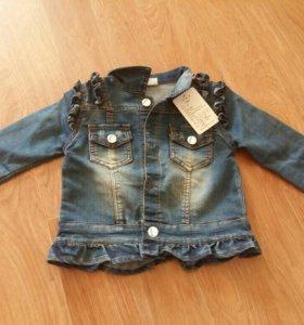 Новая курточка, размер 90
