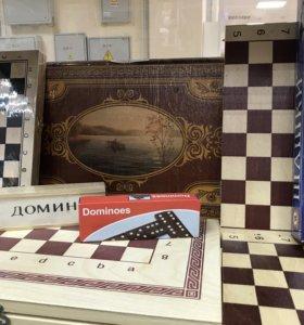 Шахматы, нарды,шашки, домино