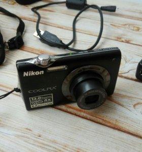 Nikon Coolpix S3000 12 МПикс