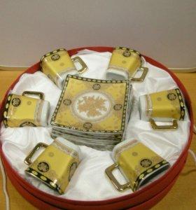 Кофейный набор Fine Porcelain, 12 предметов