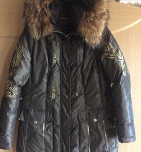 Женская куртка-пуховик 48-50