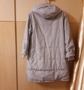 Пальто зимнее-пуховик