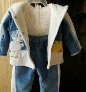 Детский тёплый осенне-весенний костюмчик