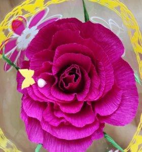 Роза с конфеткой