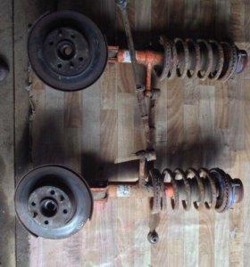 Амортизаторы,стойки,опоры,тормозные диски,пружины