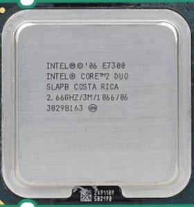 Процессоры S775 Intel C2D E4300 E7400
