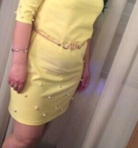 Платье 40-42разм