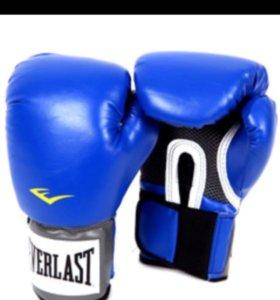 Перчатки боксерские Everlast PU Pro Style.