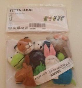 Пальчиковые игрушки-зверюшки