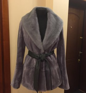 Оригинальная норковая шубка Ferre Furs