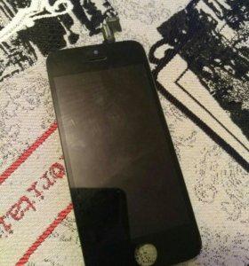 Дисплей для iphone 5с