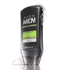 Шампунь-опаласкиватель здоровые волосы .мужской