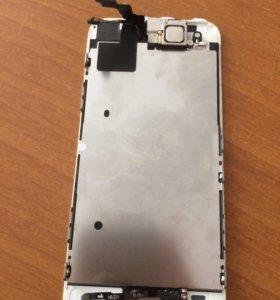 Модуль экран apple iphone 5s белый