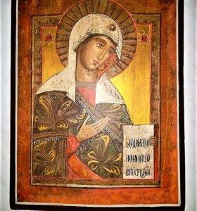 Продам икону Божьей матери