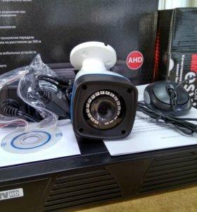 AHD уличный Комплект видеонаблюдения новый