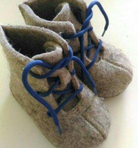 Ботиночки войлочные, валенки детские