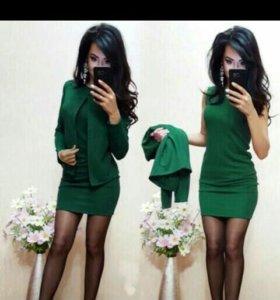 Платье+ пиджак