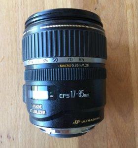 Объектив Canon EFS 17-85mm