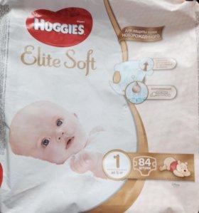 Huggies Elite Soft (1) до 5кг