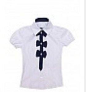 Блузка школьная рост. 134 Новая