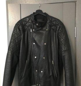 Кожаная куртка косуха Vericci