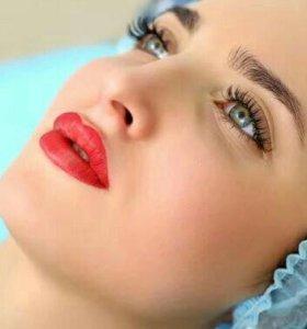 Татуаж,микроблейдинг, перманентный макияж любыхзон