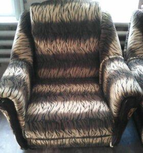 Кресло 2 шт раскладные