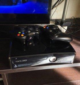 Xbox 360 slim 250 gb прошивка LT 3.0+35игр