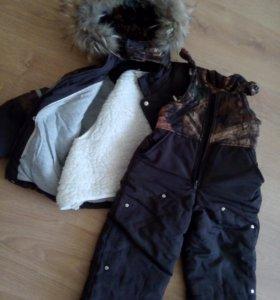 Теплый и удобный Зимний костюм