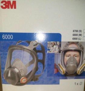 Полнолицевая Защитная маска 3M