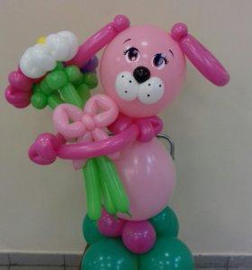 Фигура из воздушных шаров