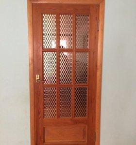 Двери 3 штуки 1 дверь 2000р