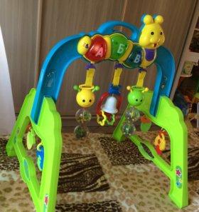 Музыкальная стойка с игрушками