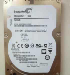 Жесткий диск для ноутбука Seagate 320 Gb