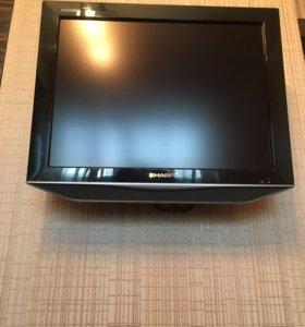 Телевизор Sharp-диагональ 20!