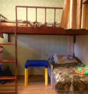 Верхняя кровать детская