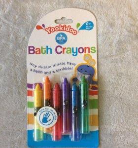 Мелки для рисования в ванной