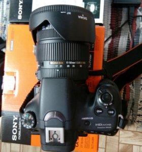 Фотоаппарат зеркальный sony alpha 58 кит комплект