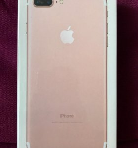 iPhone 7 Plus, Rose Gold, 128Gb