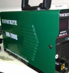 Инверторный сварочный аппарат FAVOURITE WM-200IG