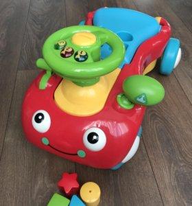 Машинка-ходунок 2 в 1