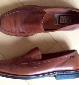 Новые кожаные туфли,Fluchos